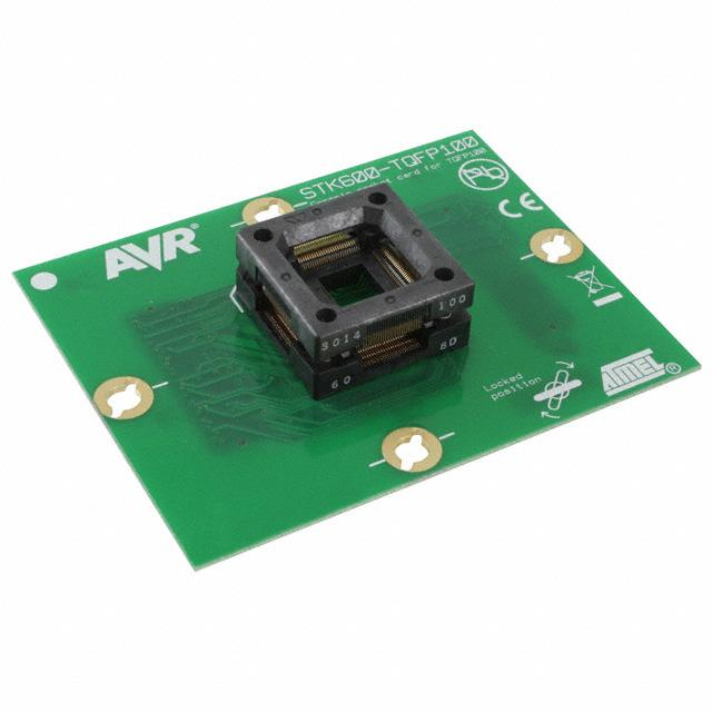 STK600 TQFP SOCKET CARD AVR - Microchip Technology ATSTK600-SC03