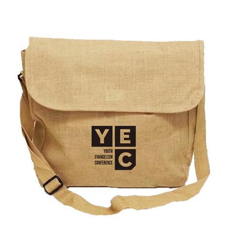 Jute Conference Bag - Event Promotional Jute Bag, Conference Bag, Document Holder Bag