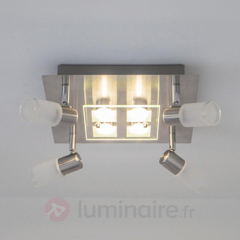 Plafonnier LED Joleni avec télécommande - Plafonniers LED