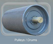 Pulleys / Drums - Belt Conveyor Accessories