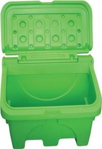 Bac À Sel Ou Sable 130 Litres Vert - COF130V-Coffre et bac à sel ou sable PEHD