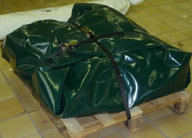 Bac de rétention souple pliable - 24000 litres - bac... - BRSO 24000 Bacs de rétention souples