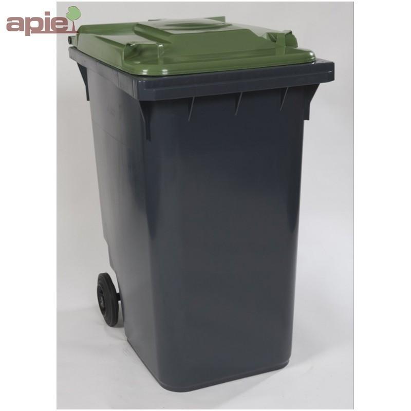 Conteneur poubelle à 2 roues, pour la collecte des déchets - Tri sélectif