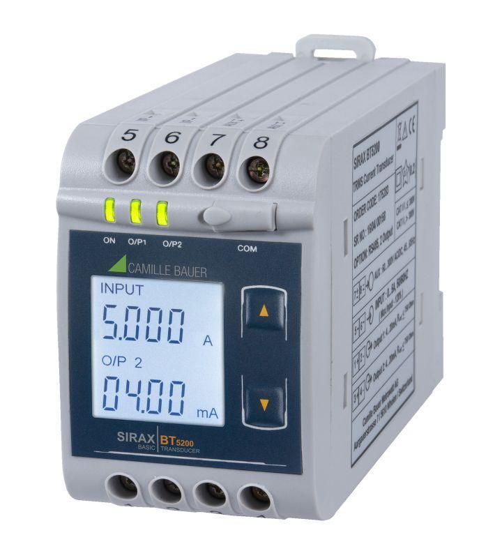 SIRAX BT5200 - Convertisseurs de mesure du courant
