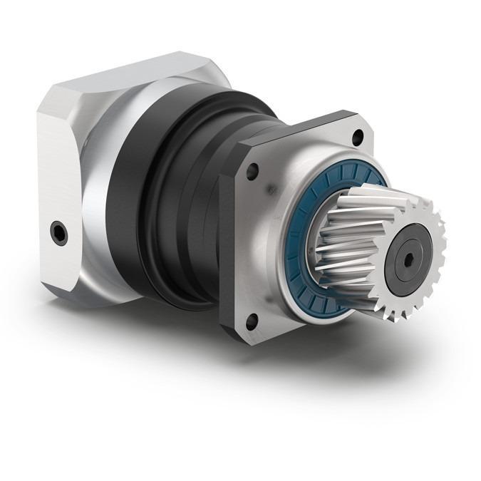 Reductor planetario con piñón montado PLN - Reductor de precisión con eje de salida - Dentado recto - IP65 -  NEUGART