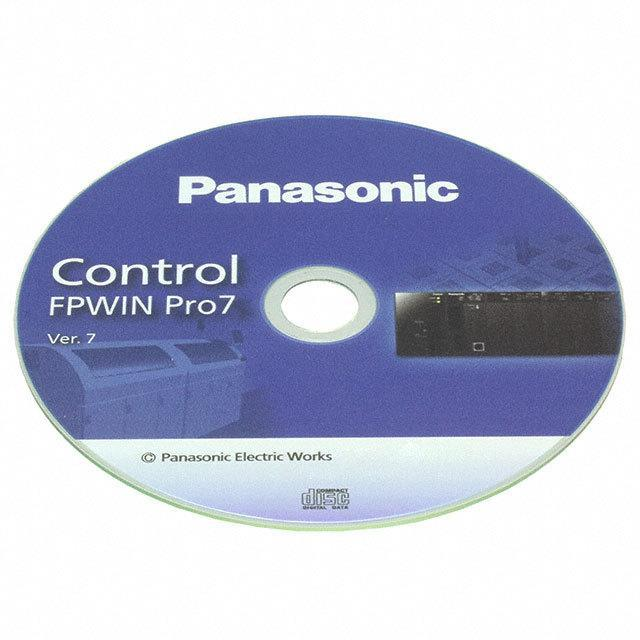 CONTROL FPWIN PRO 7 - Panasonic Industrial Automation Sales FPWINPRO7S