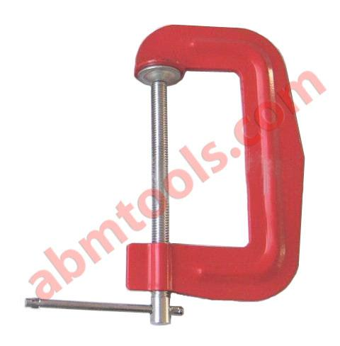 G Clamps - C Clamps Welded / Pressed / Sheeted - Special Quality Steel Sheet With Steel Screw.