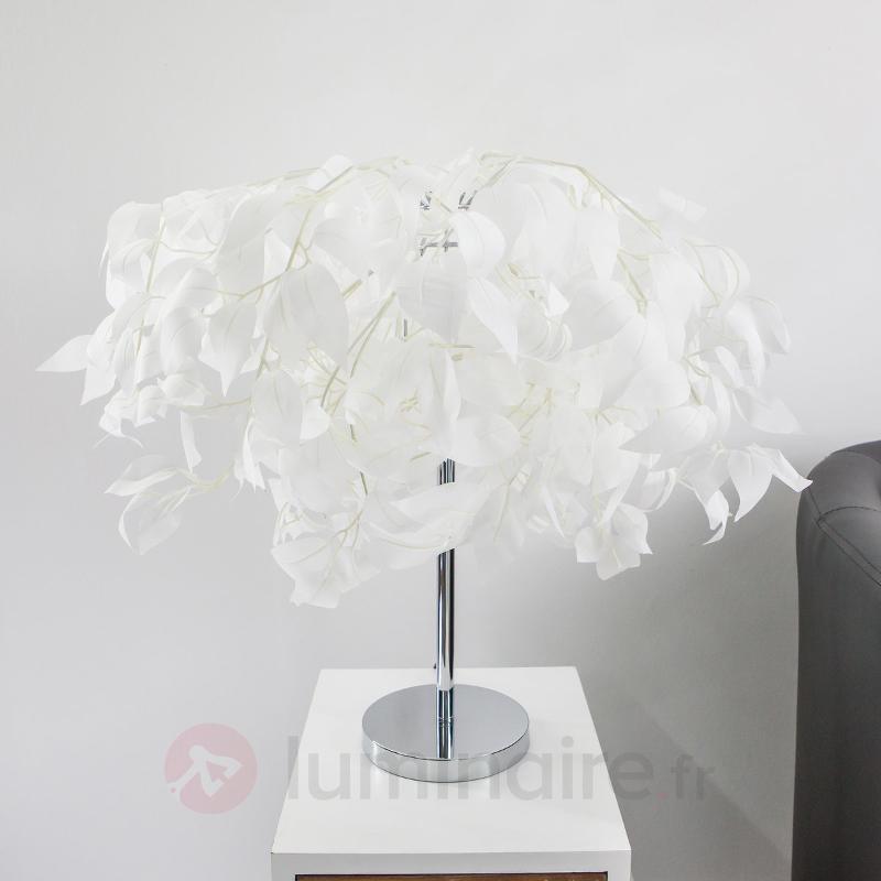 Jolie lampe de table blanche Leaves - Toutes les lampes à poser