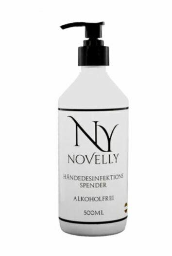 "Novelly Hand Desinfektionsmittel 500ml - 500ml ""airless"" Pumpspender Händedesinfektion"