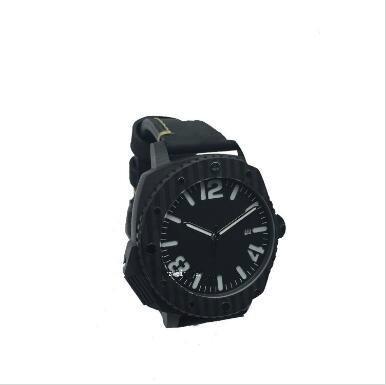 carbon fiber watch GCC18003C - New design black 100% real carbon fiber mechanical watch manufacturer in China