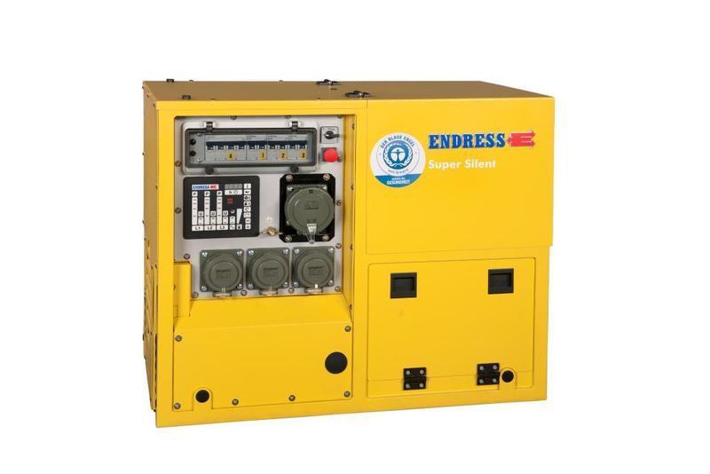 Generators for Fire & Rescue - ESE 608 DHG ES DI DIN Silent