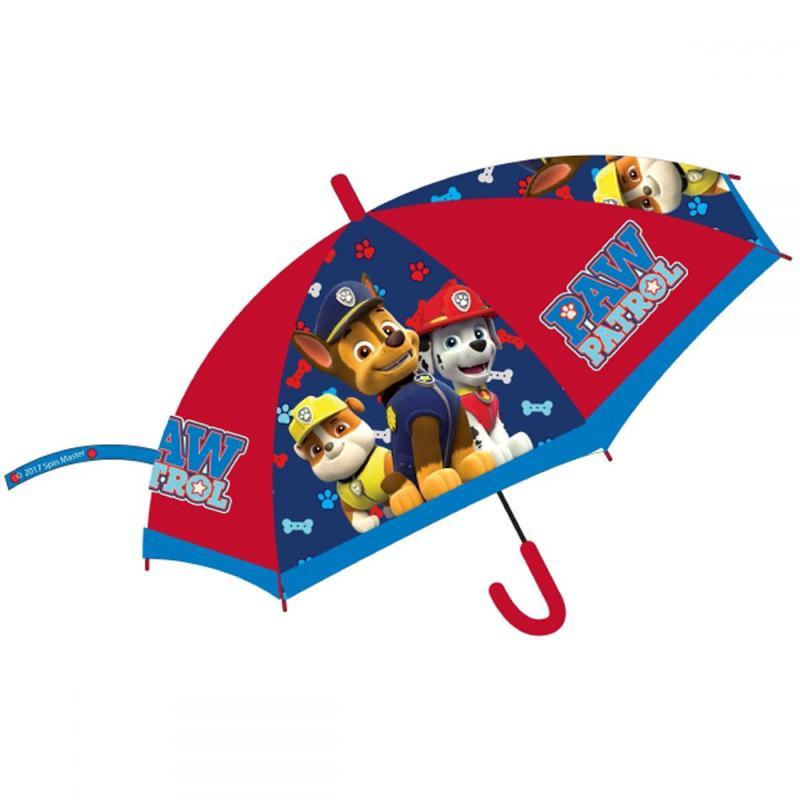 6x Parapluies automatique Paw Patrol - Parapluie