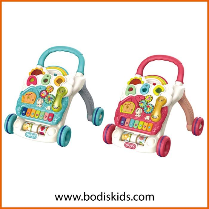 FUNCTION Musical Learning Baby Walking Trolley Toy  - Musical Learning Baby Walking Trolley Toy Baby Walker Toys