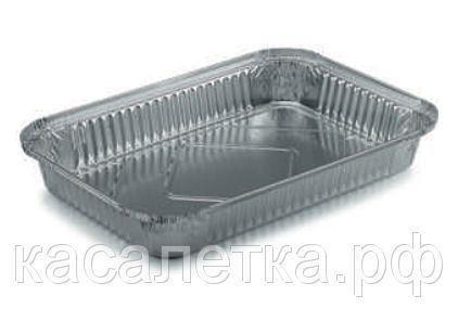 Одноразовая посуда из фольги (Касалетка) 2380 мл. R2L - Контейнер из пищевой алюминиевой фольги