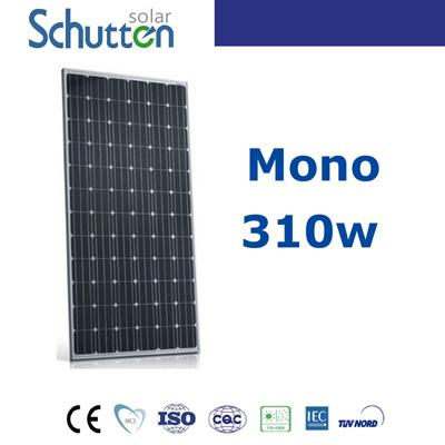 Schutten 310w mono solar panel - clean energy,25 years life time
