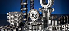 Stahlgelenkketten, Kettenräder & Kettenscheiben - Industriebedarf