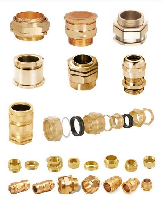 Brass Cable Glands  - Brass BW CW cable glands, Brass A1 / A2 Cable Glands , Brass Marine Cable Gland