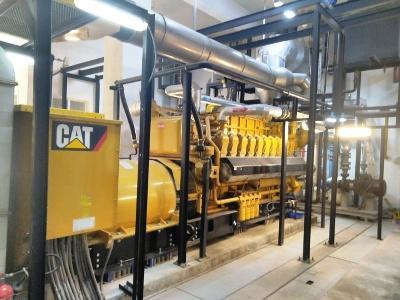 Caterpillar G3520 and G3516 Natural Gas Generators -