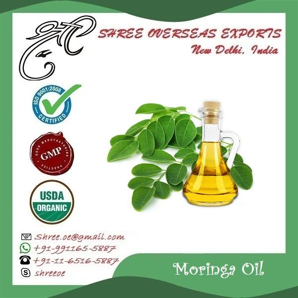 Organic Moringa Oil - USDA Organic