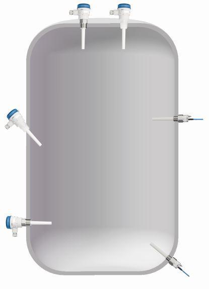 Capanivo® CN 7000  - Kapazitive Messtechnik zur Füllstandmessung in Flüssigkeiten
