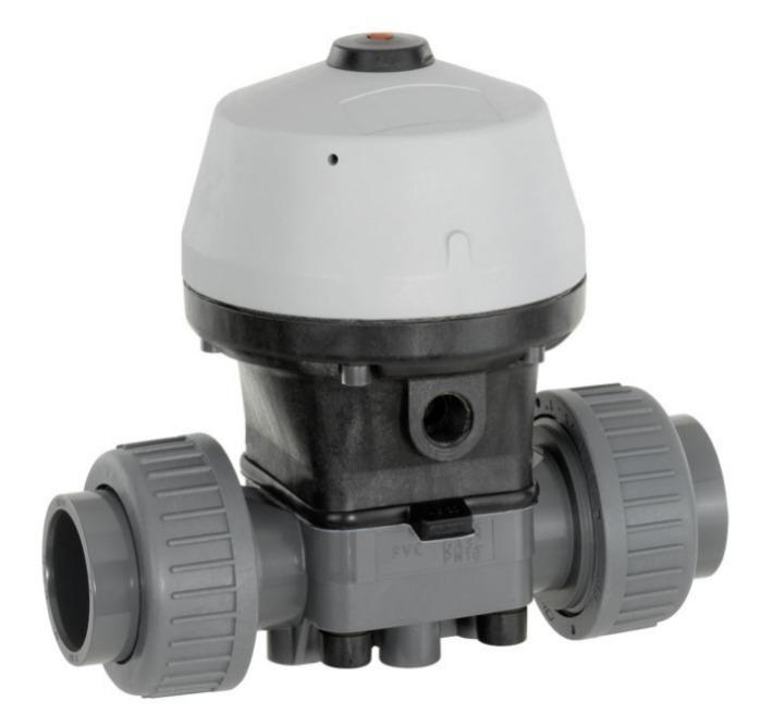 GEMÜ R690 - Válvula de diafragma de accionamiento neumático