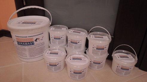 Теплоизоляционная краска - Жидкое стекло-керамическое, тепло-звукоизоляционное покрытие «КЕРАМАСТ»