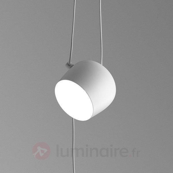 Avec variateur suspension Aim Small blanc - Suspensions pour fenêtre