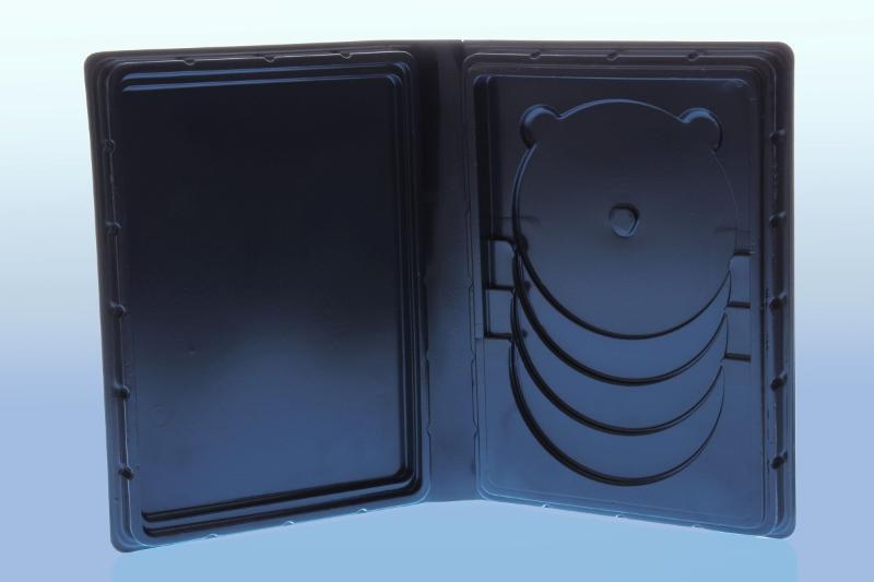 Weichbox für 4 Disc's (Overlap) und A5 Inhalt - Multimediaboxen