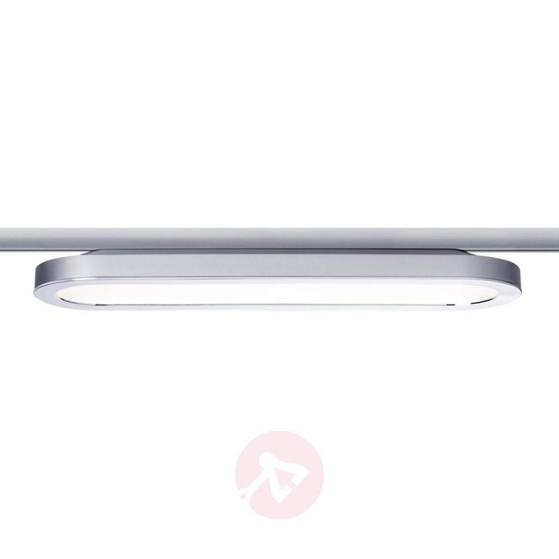 Oval LED panel Board for URail, matt chrome - indoor-lighting