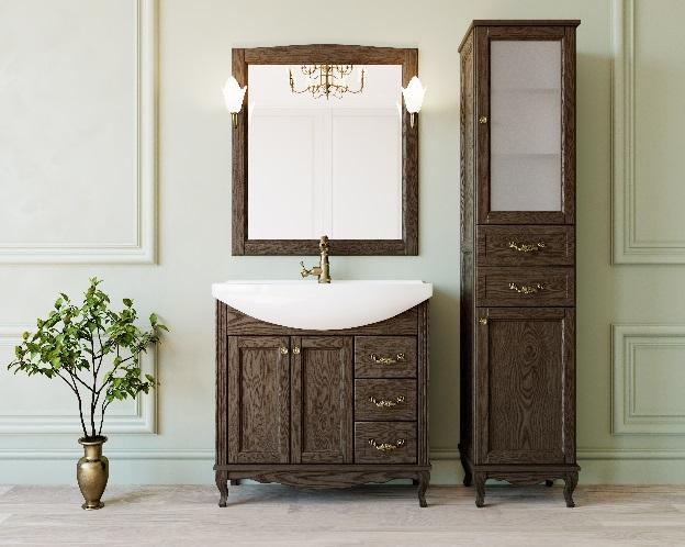 Комплект мебели для ванных комнат ValenHouse ЭЛЛИНА-85 -