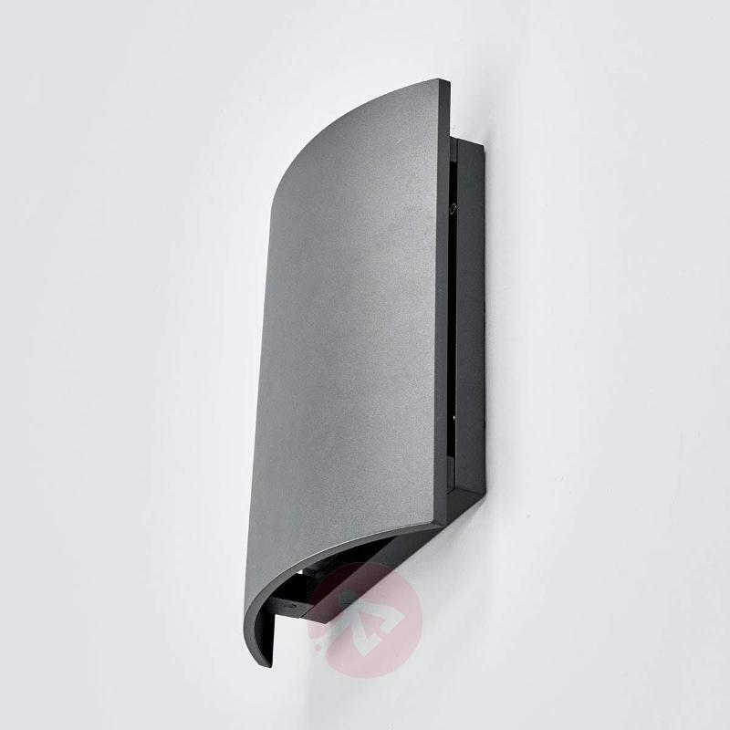 Aluminium IP54 LED outdoor wall light Tyra - Outdoor Wall Lights