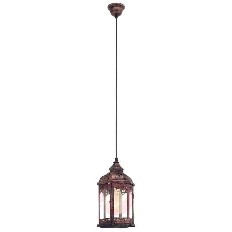 Copper-coloured Krista hanging light - Pendant Lighting