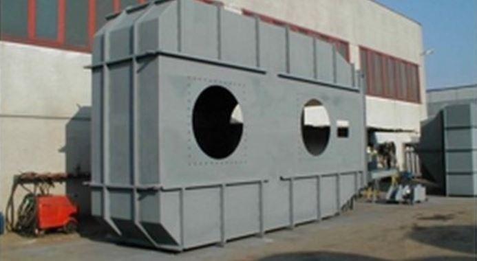 Tanks für Druckluft und Luftkästen -