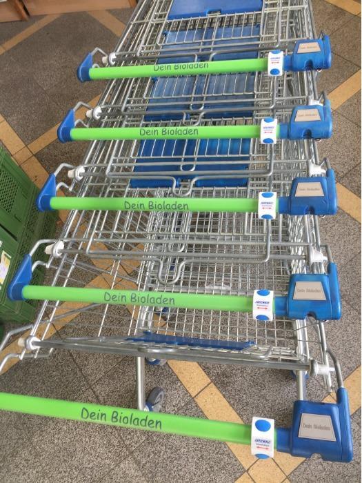 Hygenyos S-Wipe für Einkaufswagen -  (Set inkl. 50 St.)