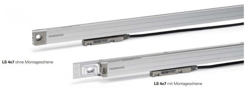 LS 400系列封闭式直线光栅尺 - LS 400系列封闭式直线光栅尺