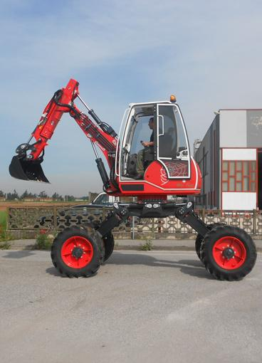 R45 Big Foot - Forester - Spider forestry excavator