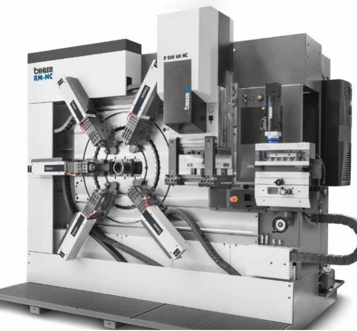 Servo stamping and forming machine RM-NC - Servo stamping and forming machine RM-NC designed for small / medium batch sizes