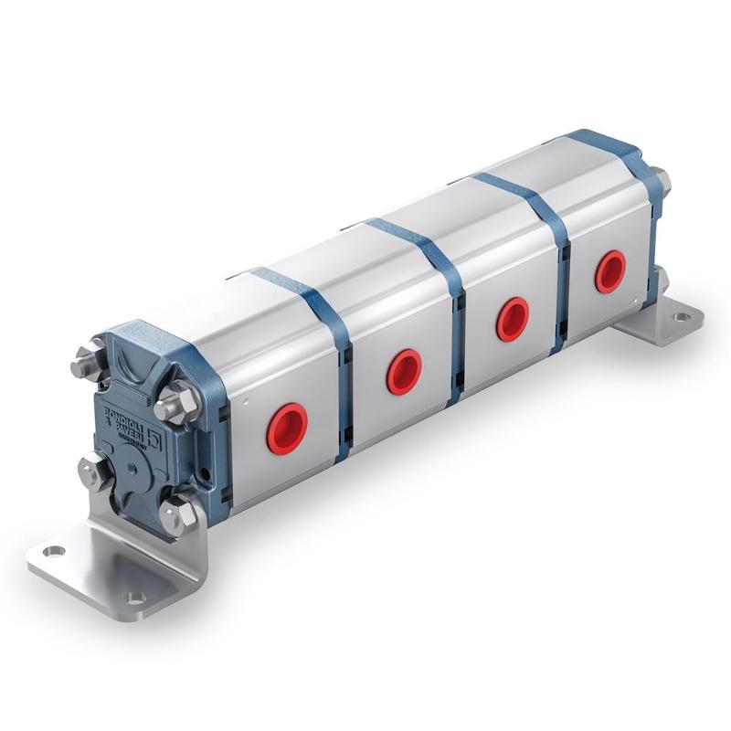 Divisori di flusso - corpo in alluminio - Pompe e motori ad ingranaggi