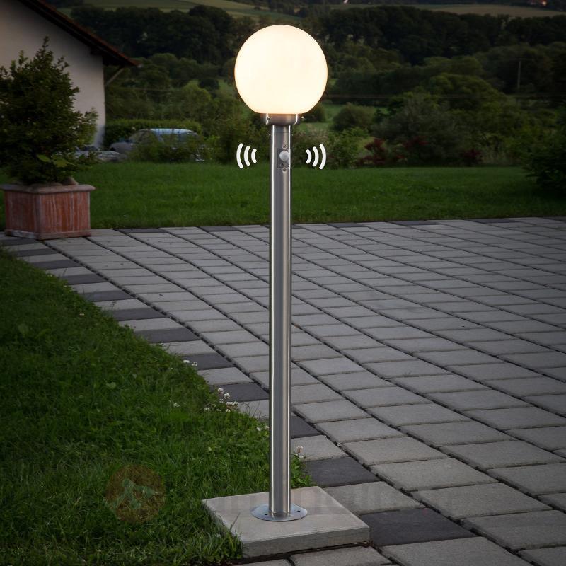 Éclairage pr chemin Vedran boule avc dét. de mvnt - Bornes lumineuses avec détecteur