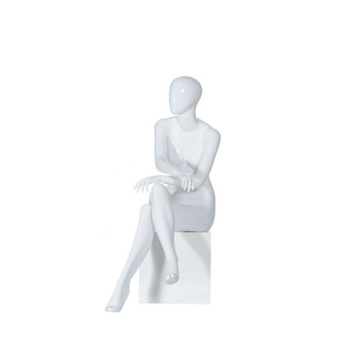 Maniquies sentados senora - maniquies mujer