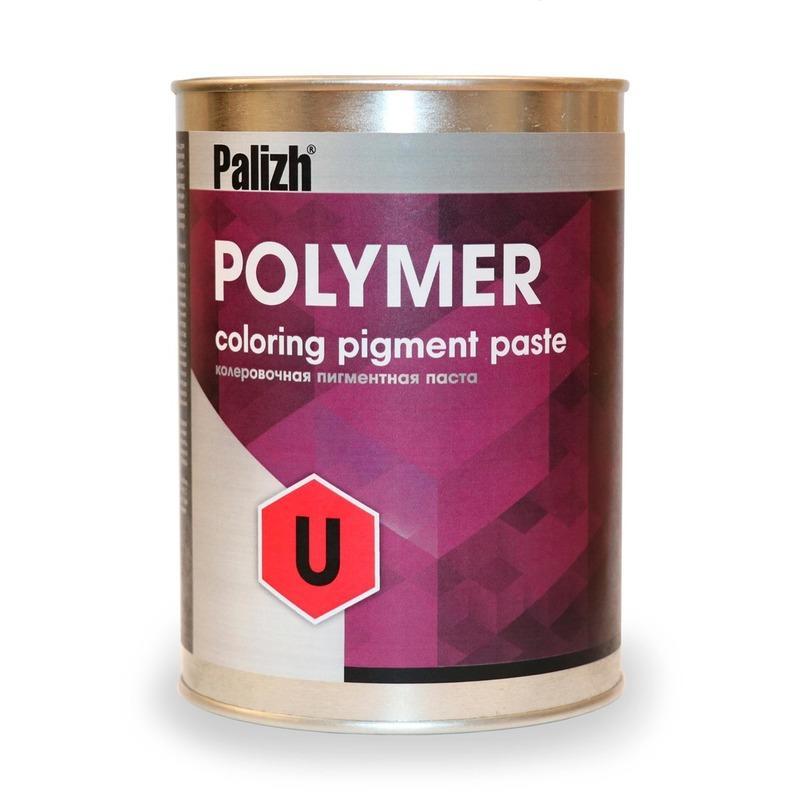 Пигментные пасты Polymer U - Для колеровки органорастворимых ЛКМ, полиуретанов, стеклопластиков