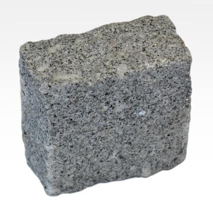 Pavés dallage de Granit Gris - Dallage finition rustique. Pavement trottoirs & chaussées.