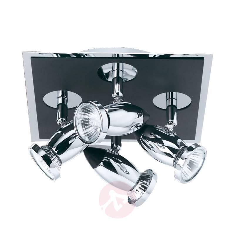 Adjustable Latisa ceiling spotlight, 4-light - Ceiling Lights