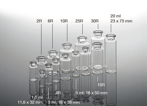 Injection vials -