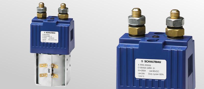Batterieschütze 1-polig - Batterieschütze für Anforderungen in Flurförderzeugen