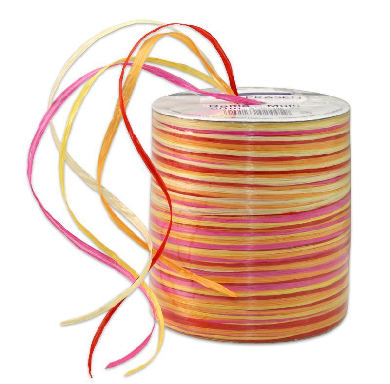RAFFIA-Multicolour - bast ribbon - null