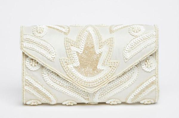 Ivory Clutch Bags - Manufacturer | International Shipping - Custom Designs Available - Made To Order