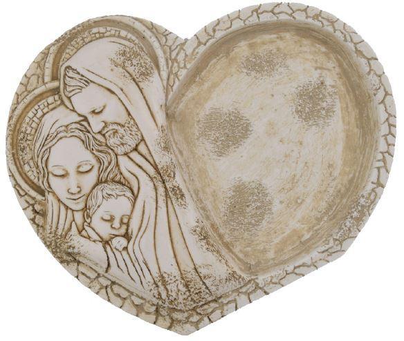 SVUOTATASCHE IN MARMORESINA misura 12x15 cm - Bomboniere matrimonio nascita battesimo comunione originali moderne e utili spos