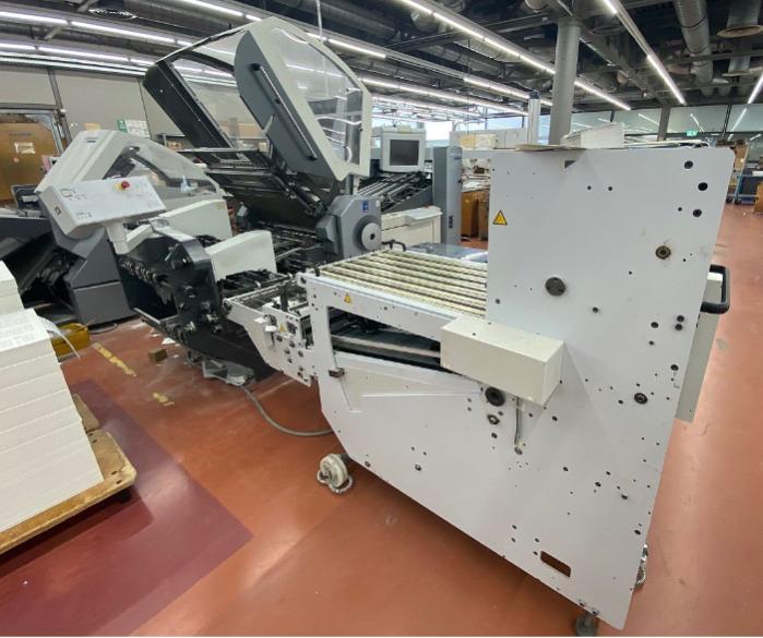 Heidelberg Stahlfolder KH 78/4 KTL - PFH - Used Machine