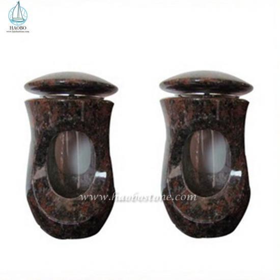 High Quality Granite Cemetery Lamp For Memorial - Lamp